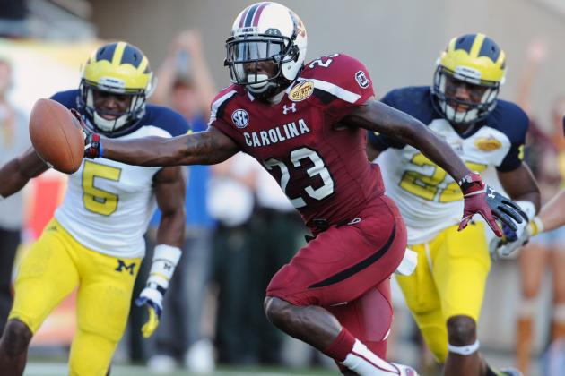 South Carolina Football: Gamecocks WRs Should Be Just Fine Without Ace Sanders