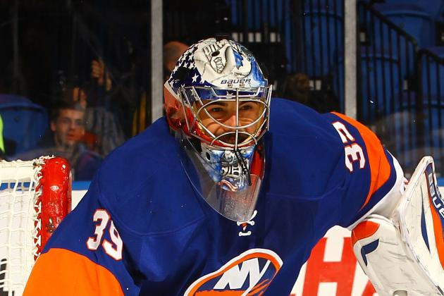 Report: Isles Will 'try to Make It Worthwhile' to Take DiPietro