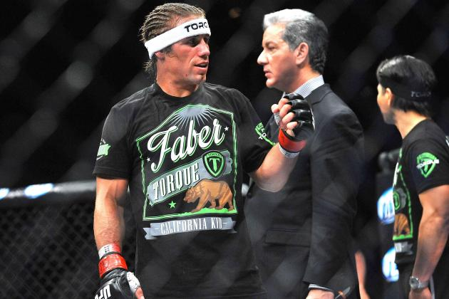 Urijah Faber vs. Yuri Alcantara Set for UFC on Fox Sports 1 in Boston