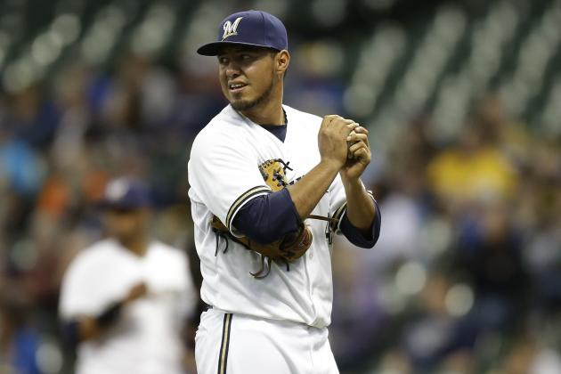 How Much Trade Value Does Brewers Ace Yovani Gallardo Have in Down Year?