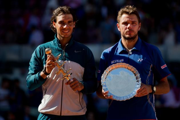French Open 2013: Rafael Nadal vs. Stan Wawrinka Has Instant-Classic Potential