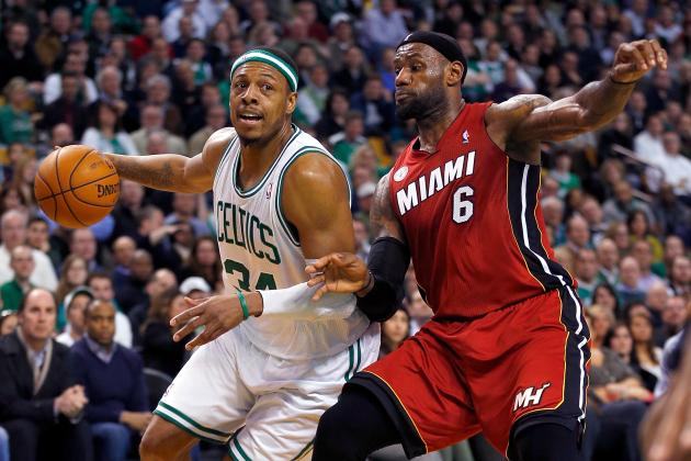 LeBron Says Paul Pierce Tops Kobe Bryant as His Biggest NBA Rival
