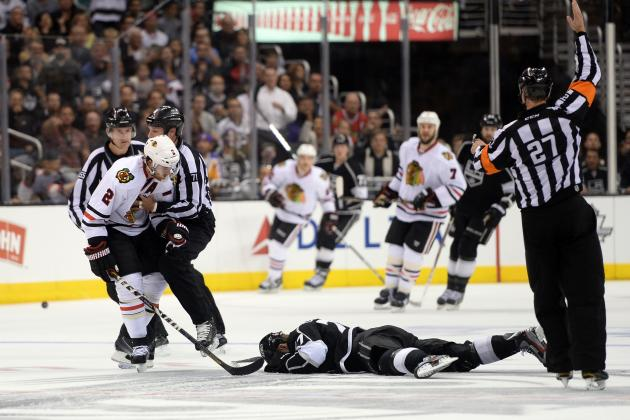 2013 NHL Playoffs: Should Duncan Keith Be Suspended for Slashing Jeff Carter?