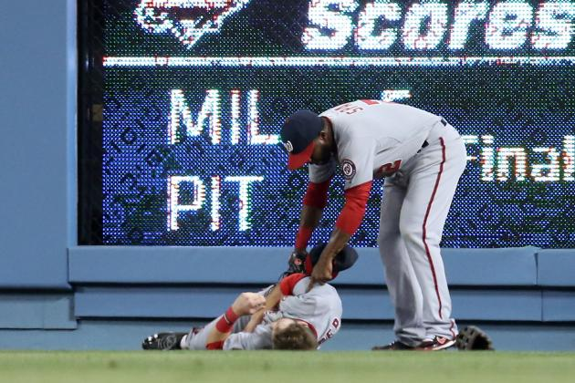 Injuries to Bryce Harper, Stephen Strasburg Put Nationals' Season in Jeopardy
