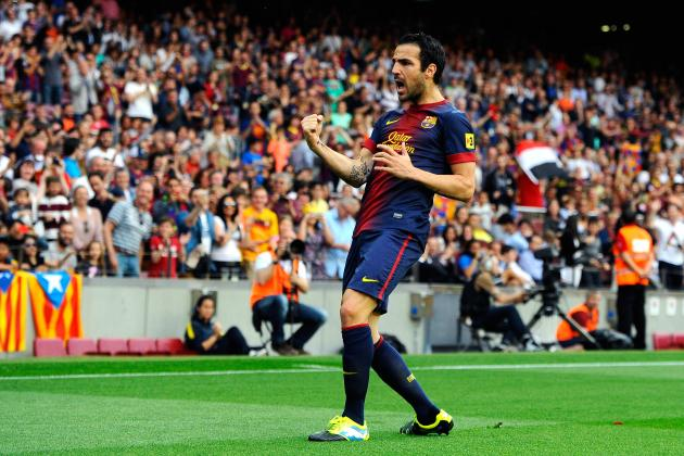 Picking a Manchester United XI to Include Cesc Fabregas