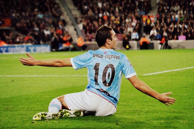 Liverpool Transfers: Meet Iago Aspas, a Poor Man's Luis Suarez