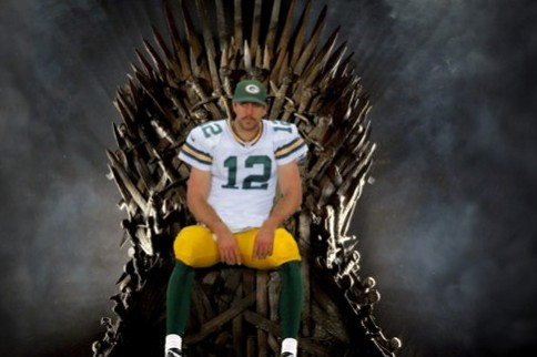 Aaron Rodgers Spoils Game of Thrones on Twitter