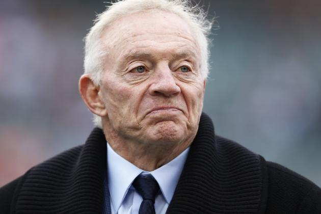 Jerry Jones on Cowboys' Draft Board Getting out