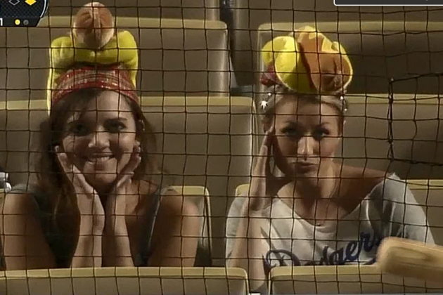 Padres Announcer on Female Fans Wearing Dodger Dog Hats