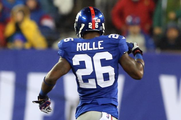 Giants' Safety Antrel Rolle 'Not Eager' to See RGIII Again