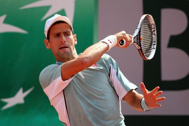Novak Djokovic Defeats Tommy Haas to Advance at 2013 French Open