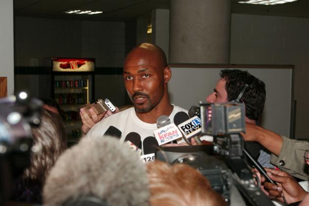 7 Ways Karl Malone Could Change Enes Kanter and Derrick Favors