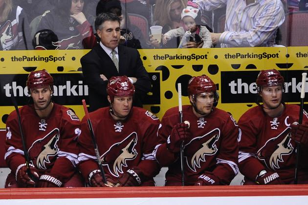 Dave Tippett on Future with Coyotes: 'I Haven't Thought About Moving Yet'