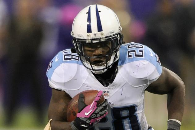 Titans' Chris Johnson Pleased with New RB Coach