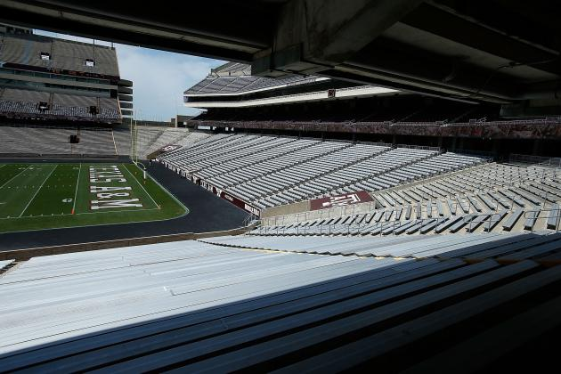 Texas A&M Announces Ticket Pricing for Renovated Kyle Field