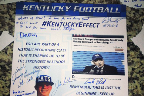 Drew Barker Appreciates UK Staff