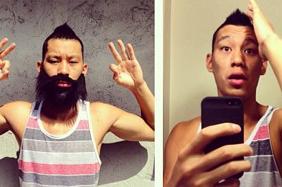 Instagram: Lin Impersonates Harden, Parsons