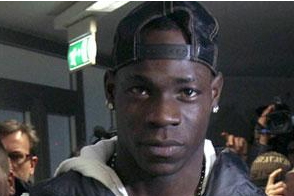 Balotelli in Bolt Row