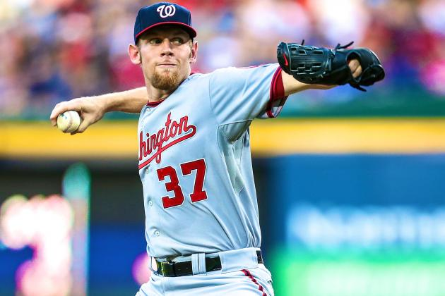 Nationals Place Stephen Strasburg on DL with Lat Injury