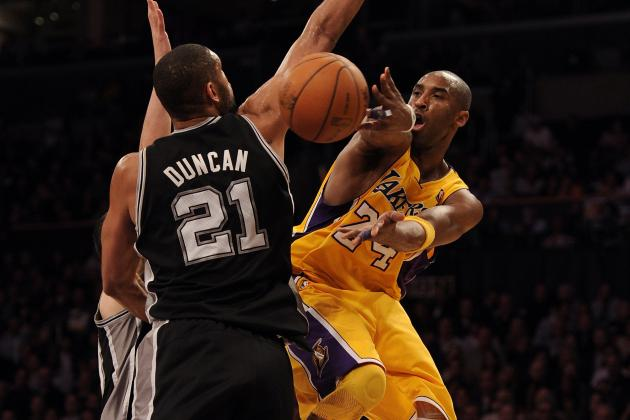 Why Kobe Bryant Fans Should Be Rooting for Tim Duncan in 2013 NBA Finals
