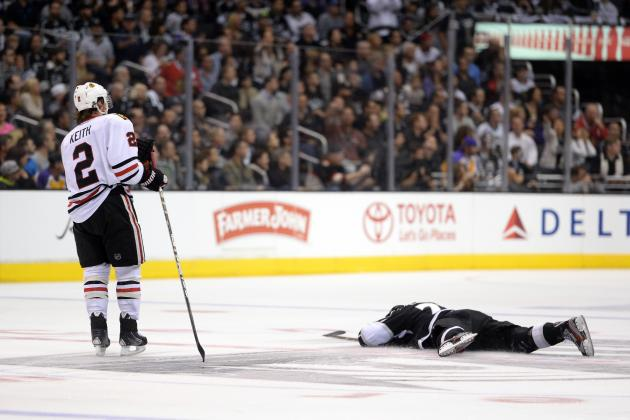 Chicago Blackhawks Defenseman Duncan Keith Suspended for Game 4 vs. Kings