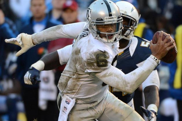 Terrelle Pryor's Job Security Is Under Attack in Oakland