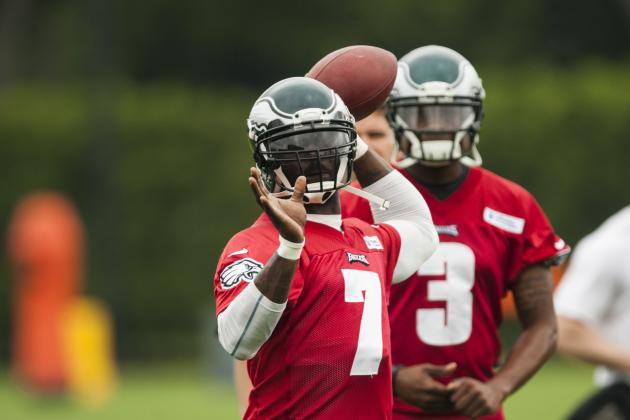 Vick Doesn't Know Where He Stands in Quarterback Competition