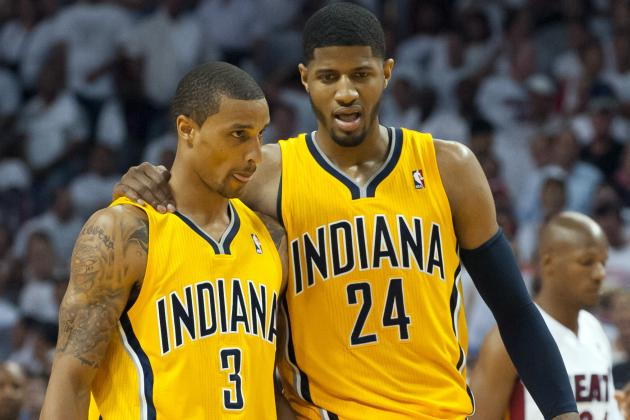 Paul George, George Hill Invited to Team USA's July Minicamp