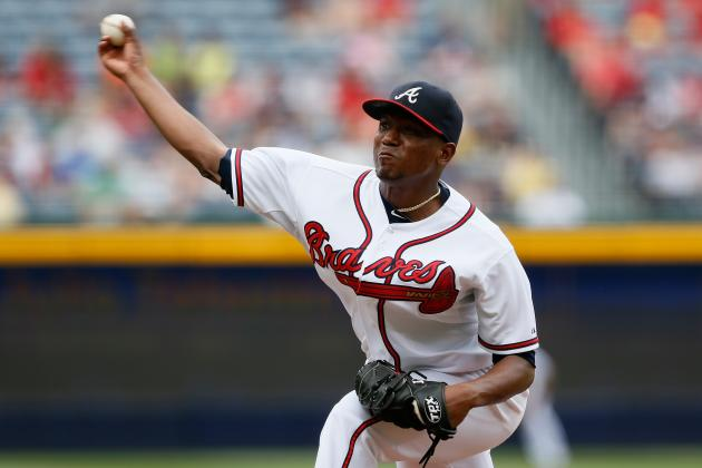 Does Julio Teheran's Near No-Hitter Keep Him in Braves' Rotation?