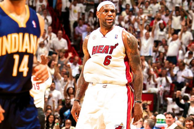 How LeBron James' Playoff Resume Stacks Up Against Those of NBA Legends