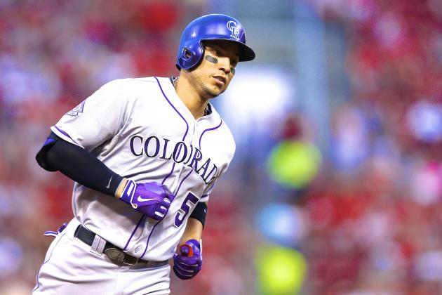 Rockies OF Carlos Gonzalez Explodes for 3 Home Runs vs. Reds