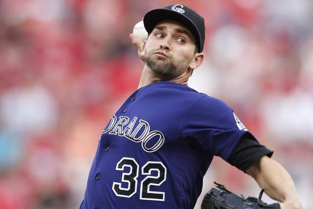 Rockies' Pitcher Tyler Chatwood Gets Good News; Oswalt Nearing Call-Up
