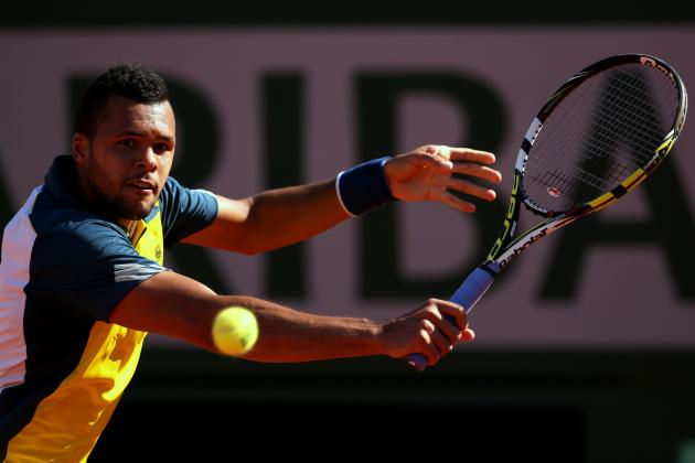 French Open Tennis 2013 Semifinals: Keys to Jo-Wilfried Tsonga vs. David Ferrer