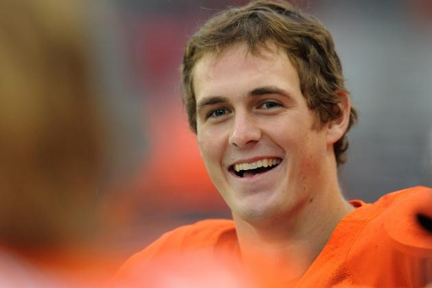 Sean Mannion One of Five Named as Oregon State Football Captains