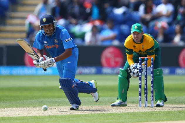 ICC Champions Trophy 2013: India vs. South Africa Score, Points Table and More