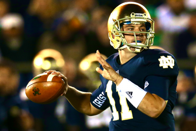 Tommy Rees Named Notre Dame's Starting QB Following Everett Golson's Suspension