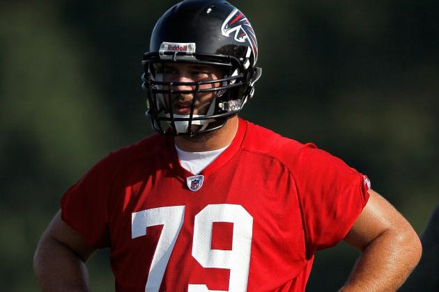 Much Hinges on Johnson, Right Side of O-Line