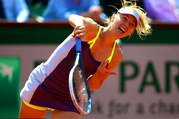 Sharapova vs. Azarenka: French Open 2013 Women's Semifinals Highlights, Recap