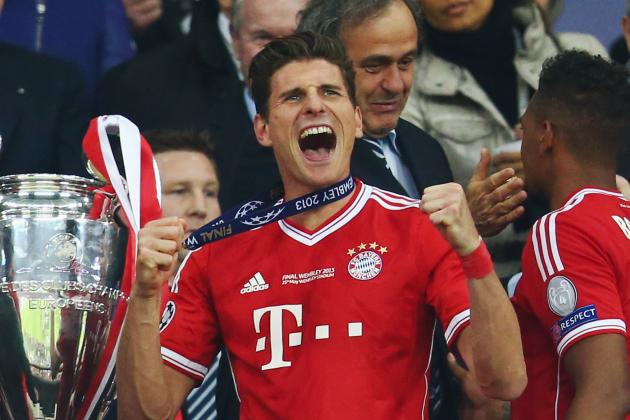 Mario Gomez Is Set for Bayern Munich Exit, According to His Agent