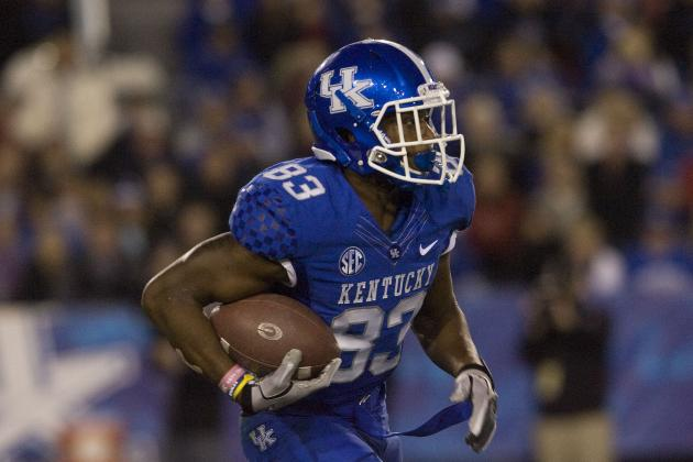 Kentucky Football Losing Four Players to Transfer
