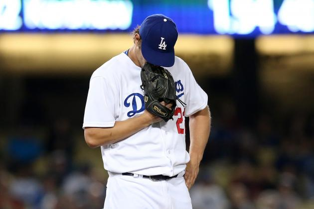 Dodgers' Scant Support for Kershaw Becoming a Problem