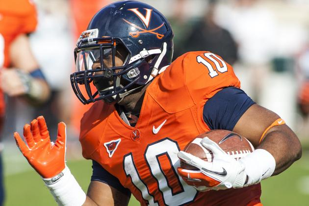 Former Virginia RB Richardson Transfers to Liberty