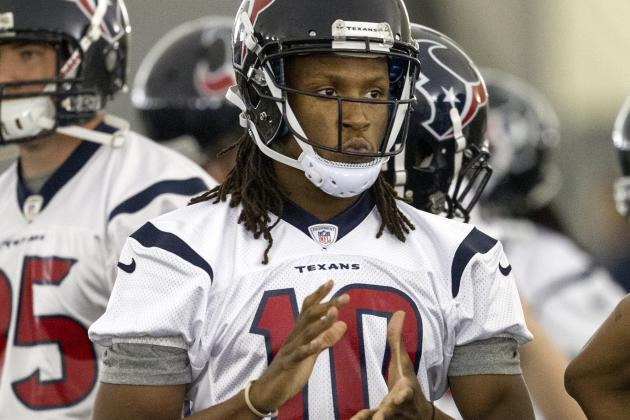 Texans Thrilled with DeAndre Hopkins