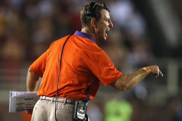 First Session of Dabo Swinney's High School Camp Features 2015 OL Targets