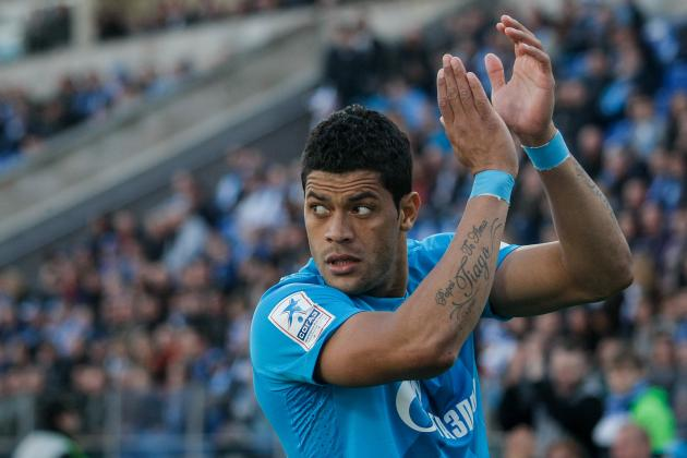 Chelsea Transfer Rumours: Breaking Down How Hulk Would Fit with Blues