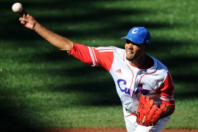 Dodgers Eyeing Cuban Pitcher Miguel Alfredo Gonzalez
