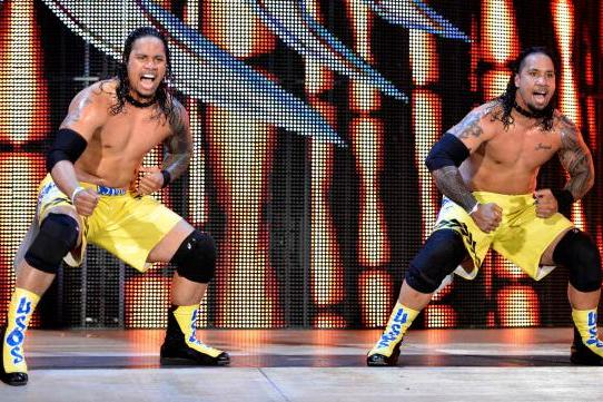 The Usos on a Collision Course with WWE Tag Team Champions the Shield