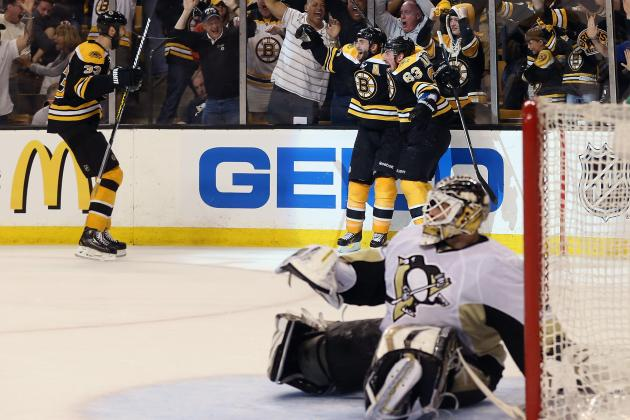 Boston Bruins vs. Pittsburgh Penguins: Conference Finals Domination