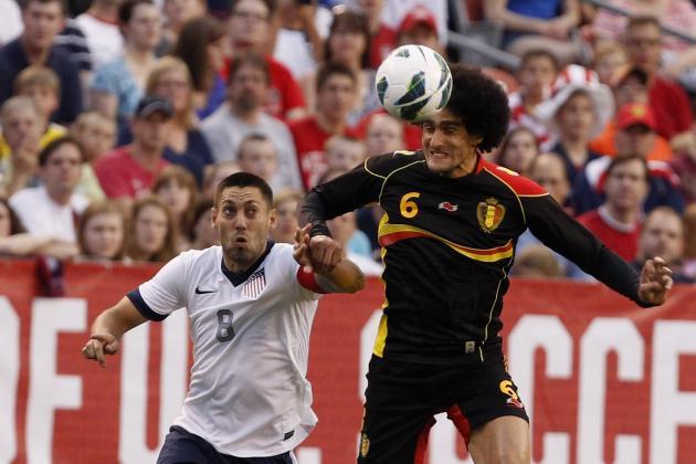 Marouane Fellaini Transfer News: Belgian Star Has Release Clause at Everton