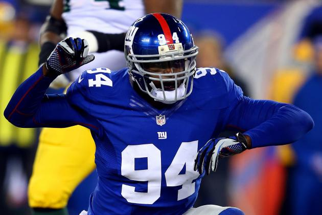 Kiwanuka Back at Giants' Starting DE with JPP out